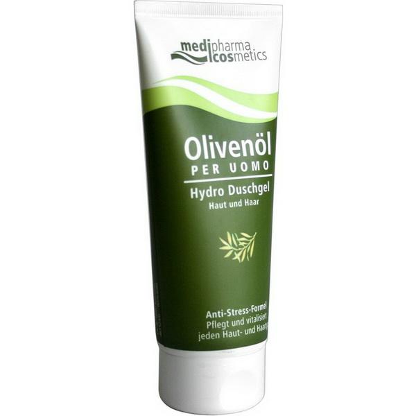 Olivenöl Per Uomo Hydro Dusche Für Haut Und Haar 200 Ml Demedis